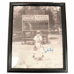 Don Mattingly New York Yankees Autographed Little League 8x10 Framed Photo