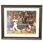 "Aaron Boone New York Yankees Autographed and ""Multi Inscribed 2003 ALCS GW HR"" 16x20 Framed Photo"