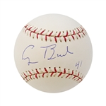 George H.W. Bush Autographed and Inscribed 41 2004 All-Star Game Baseball (John Hirschbeck LOA)