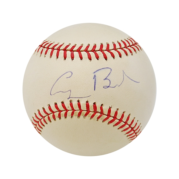 George H.W. Bush Autographed Baseball Inscribed #41 (John Hirschbeck LOA)