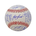 2013 Red Sox Team Signed World Series Baseball (Farrell, Pedroia, Bogaerts, Napoli, Lester) (John Hirschbeck LOA)