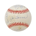 1996 New York Yankees Team Signed Baseball (Torre, Jeter, Boggs, Williams, Cone)
