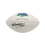 Jack Youngblood Autographed and Inscribed HOF 01 Super Bowl XLIII Panel Football (JSA)