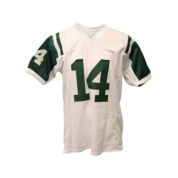 Sam Darnold Autographed Replica Jets White Football Jersey BAS Beckett