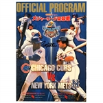 Bobby Valentine Autographed 2000 Opening Series in Japan Official Program Mets vs Cubs