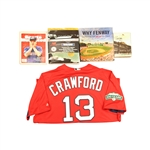 Boston Red Sox Collection - Including Carl Crawford Game Used Uniform, 3 Books and Sports Illustrated