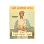 """Blue Moon"" Odom Autographed Oakland As Sporting News Cover"