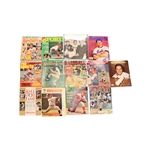 Lot of 13 Various Tom Seaver and Jerry Koosman New York Mets Magazines