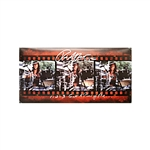 "Rob Affuso Autographed and Inscribed ""Skid Row"" and ""1-2-3 Get A Piece of Me"" 10x20 Filmstrip Photo (CX Auth)"