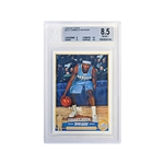 Carmelo Anthony Denver Nuggets Topps 2003-04 Rookie Card Beckett Graded 8.5