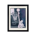 Dave Bing Autographed and Framed Syracuse University 11x14 Photograph (JSA Auth)
