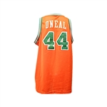 Jermaine ONeal Autographed Orange Eau Claire High School Basketball Jersey (JSA)