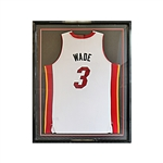 Dwayne Wade Autographed and Inscribed 06 Finals MVP Framed Miami Heat Jersey (JSA)