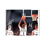 Gerry McNamara, Hakim Warrick, and Josh Pace Triple-Signed 16x20 Photo ENV Collectibles