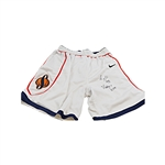 "Lawrence Moten Autographed and Inscribed ""Poetry 2,334"" Team Issued Syracuse University Shorts"