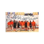Syracuse University Multi-Signed First Fantasy Camp 12x8 Photo