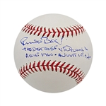 Pete Best The Beatles Autographed and Inscribed The Beatles Drummer August 1960-August 1962 OML Baseball JSA