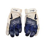"Alex Rodriguez New York Yankees Autographed and Inscribed ""2005 Game Used"" Pair of Nike Batting Gloves (Elite LOA)"