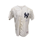"Derek Jeter New York Yankees Autographed and Inscribed ""Game Used Japan 3-31-04"" Game Used Japan Series Jersey (Steiner LOA/MLB)"