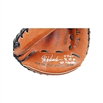 "Jorge Posada New York Yankees Autographed and Inscribed ""3 Peat 96, 99, 00 WS Champs"" Catchers Mitt (Steiner/MLB)"