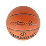 LeBron James Autographed Official NBA Basketball (Upper Deck)