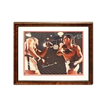 Muhammad Ali Autographed 16x20 framed photo (Upper Deck)