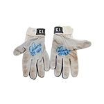 Alex Rodriguez Autographed and Inscribed 07 GU Game Used Pair of Nike Batting Gloves (MVP LOA)
