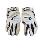 Alex Rodriguez Autographed and Inscribed 2005 Game Used Pair of Nike Batting Gloves (AROD LOA)