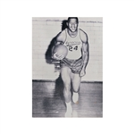 Ernie Davis 1960-61 Syracuse University Basketball 16x20 Foam Mounted Photograph