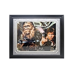 "Peter Mayhew Autographed and Inscribed ""Chewbacca"" 16x20 Star Wars Photo (Steiner Hologram)"