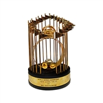 Mel Stottlemyres Personally Owned 1986 New York Mets World Series 12 Inch Trophy (Brandon Steiner LOA)