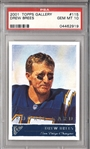 Drew Brees 2001 Topps Gallery #115 PSA Gem Mint 10 Rookie Card